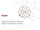 Analyzing Complex Behavior Graphs in Hadoop at Scale