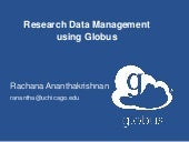 RDAP 15: Research Data Management Using Globus Software-as-a-Service