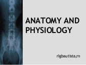 Anatomy and physiology2007