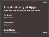 The Anatomy of Apps - How iPhone, A...