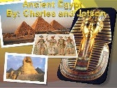 Ancient Egypt by Charles & Jetson
