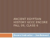 Ancient Egyptian History Class 6 Fa...