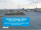 Anders dyrelund smart energy cities...