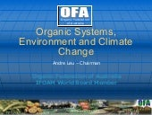 Organic Systems, Environment and Cl...