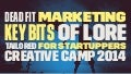 Crative Camp 2014: Dead fit-marketing by Andrea di marco
