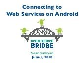 Connecting to Web Services on Andro...