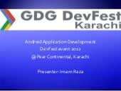 Google Developer Group(GDG) DevFest...