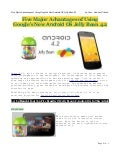 Android OS Jelly Bean 4.2
