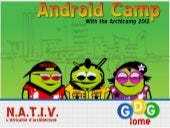 Android camp LOME with Archicamp 2012