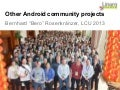 LCU13: Collaborating with other Android communities