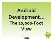 Android Development: The 20,000-Foo...