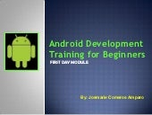 Android Development for Beginners w...