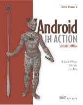 Android in action 2nd edition 2011