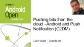 Android C2DM Presentation at O'Reil...