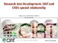 CIAT's Special Relationship with CRS