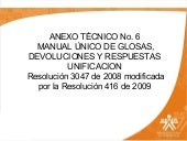 Anexo tecnico 6 blog manual de glosas