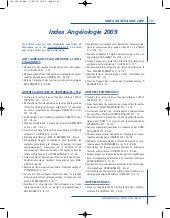 Angiologie2009 Index