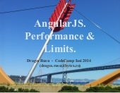 AngularJS - Overcoming performance issues. Limits.