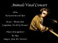 Animals' Vocal Concert (YouTube)