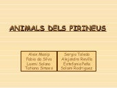 Animals dels pirineus the end-