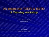 Arief Firdaus An Insight Into Toefl...