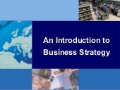 An Introduction To Business Strategy