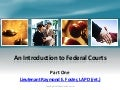 An introduction to federal courts