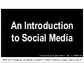 An Introduction To Social Media Sli...