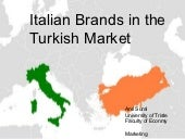 Anıl Sural - Italian Brands in the ...