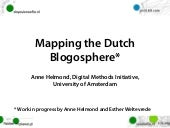 Mapping the Dutch Blogosphere