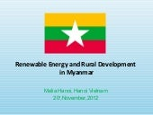 Annex 20 (myanmar) renewable energy