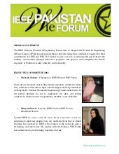 IEEE Pakistan WIE Forum Annual Repo...