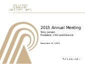 Royal Gold's 2015 Annual Meeting