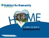 Habitat for Humanity Annual Report ...