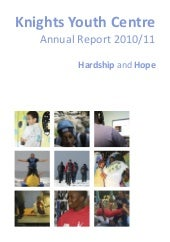 Knights Youth Centre annual report ...