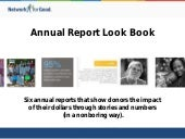 Annual Report Look Book