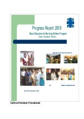 Annual Report Working children prog...