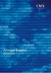 Annual Review CMS 2010-2011