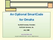 An optional smart code  for omaha m...