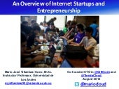 An Overview of Internet Startups an...