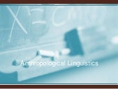 Anthrtopological linguistics1