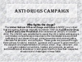 Anti Drugs Campaign