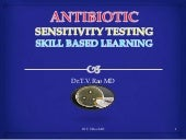 Antibiotic sensitivity testing   Sk...