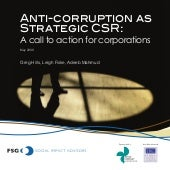 Anti Corruption As Strategic Csr A ...