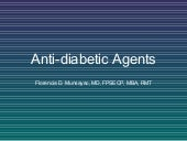 Antidiabetic agents1dated