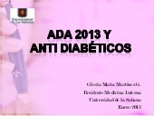 Antidiabeticos farmacologia clinica