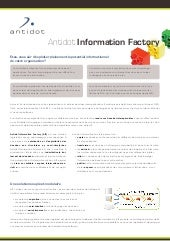 ANTIDOT - Antidot information factory