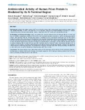 Antimicrobial Activity Of Human Pri...