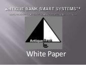 Antique bank smart systems™ white p...