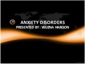 Anxiety Disorder: Symptoms, Diagnos...